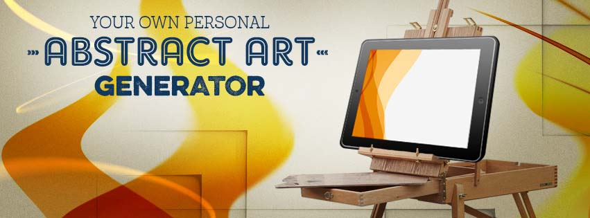 Your own personal Abstract Art Generator